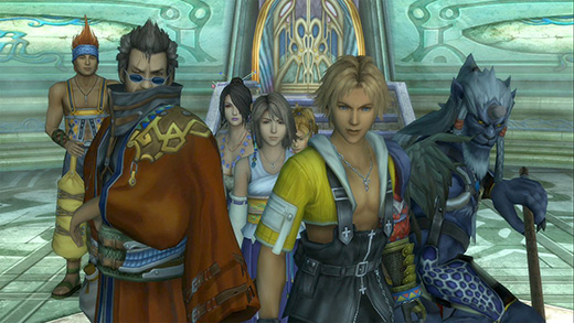 Final Fantasy X/X-2 HD Review Screenshot