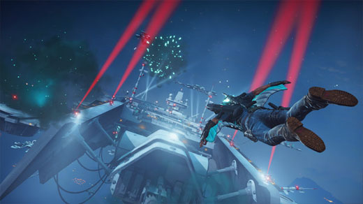 Just Cause 3: Sky Fortress Review Screenshot