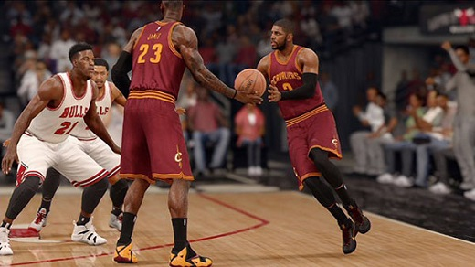 NBA Live 16 Review Screenshot