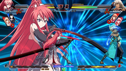 Nitroplus Blasterz: Heroines Infinite Duel Review Screenshot