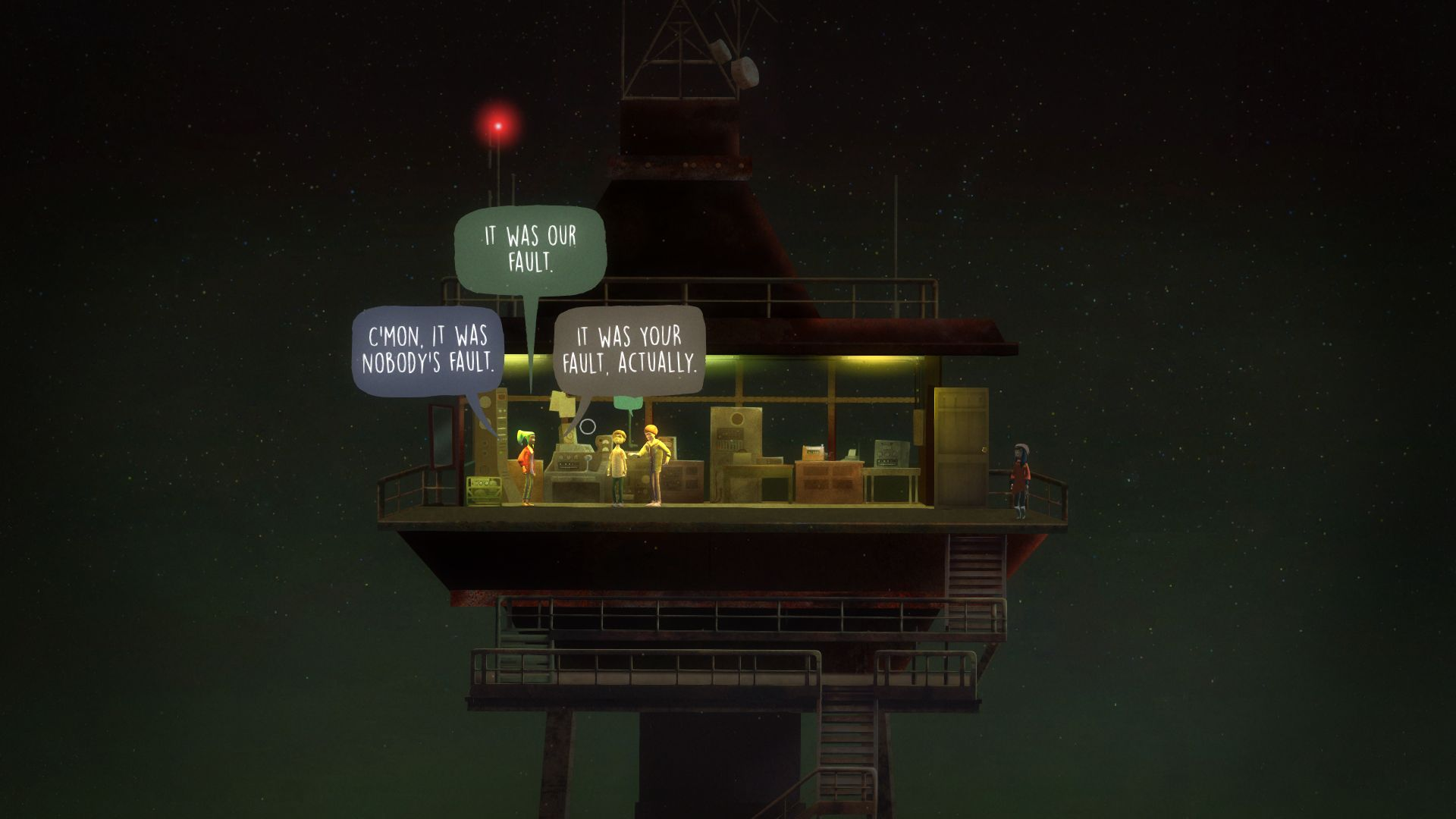 Oxenfree Review Screenshot