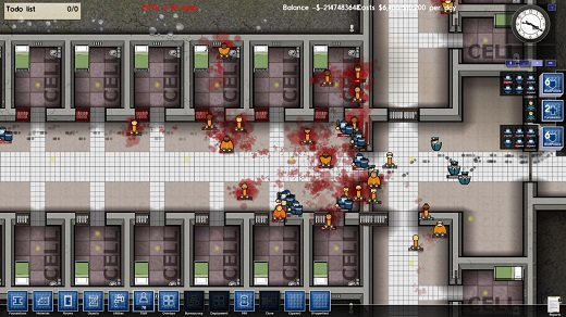 Prison Architect Review Screenshot