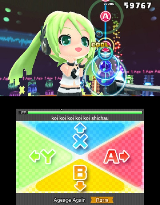 Hatsune Miku: Project Mirai DX Review Screenshot