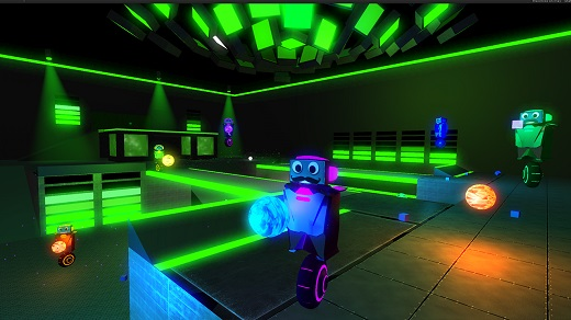 Robot Roller-Derby Disco Dodgeball Review Screenshot