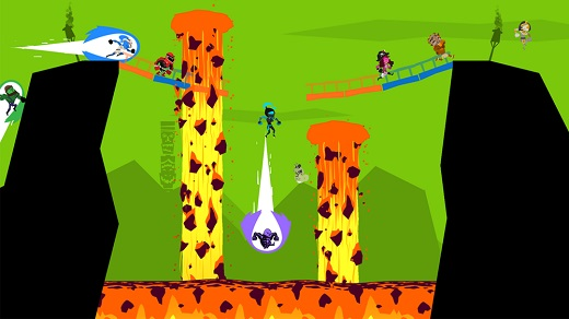 Runbow Review Screenshot