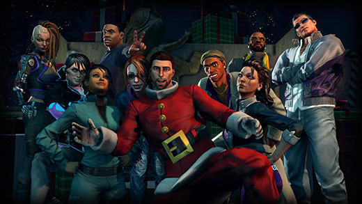 Saints Row IV How The Saints Save Christmas DLC Review Screenshot