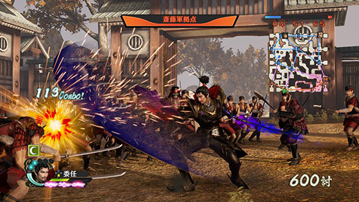 Samurai Warriors 4: Empires Review Screenshot