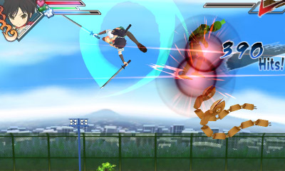 Senran Kagura Burst Review Screenshot