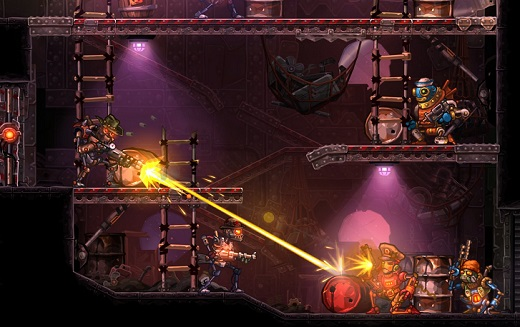SteamWorld Heist Review Screenshot
