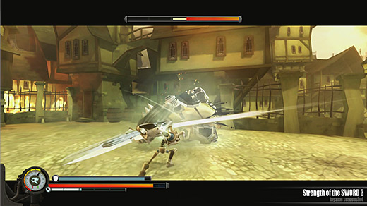 Strength of the Sword 3 Review Screenshot