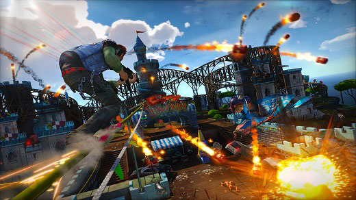 Sunset Overdrive Review Screenshot