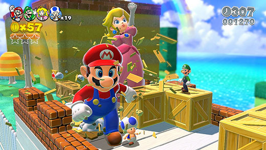 Super Mario 3D World Review Screenshot