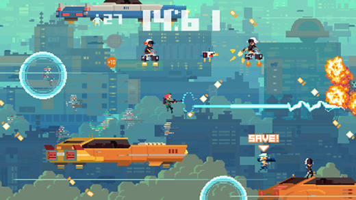 Super Time Force Review Screenshot
