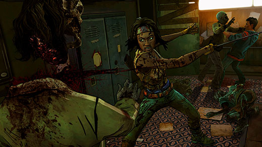 The Walking Dead: Michonne - In Too Deep Review Screenshot
