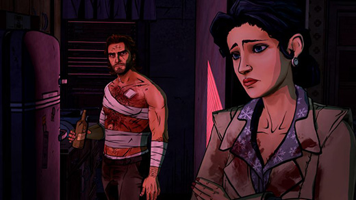 The Wolf Among Us: In Sheep's Clothing Review Screenshot