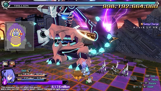 Trillion 1,000,000,000,000: God of Destruction review Screenshot