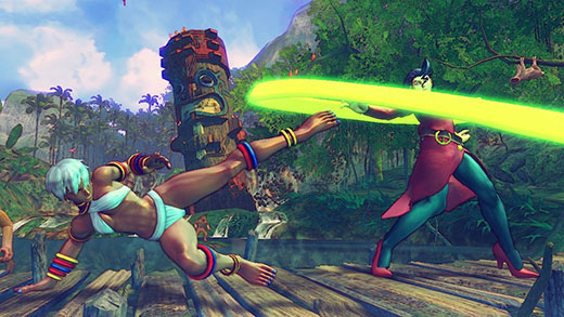 Ultra Street Fighter 4 Review Screenshot