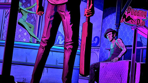The Wolf Among Us Episode 2 Review Screenshot