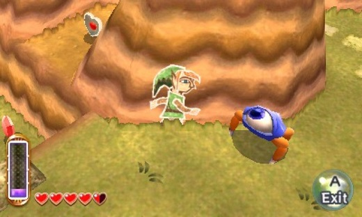 The Legend of Zelda: A Link Between Worlds Review Screenshot