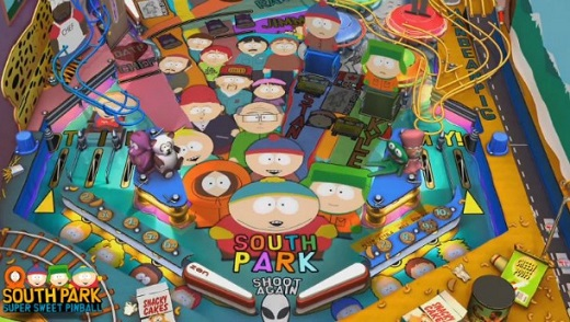 South Park Super Sweet Pinball