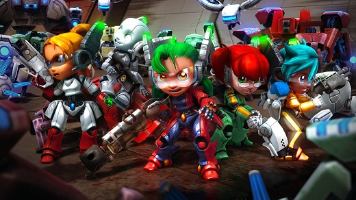 Assault Android Cactus Review Screenshot