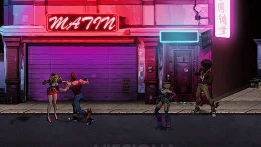 Double Dragon Neon Preview