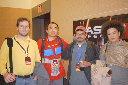 Left to Right: Sparky Clarkson, Chi Kong Lui, Richard Naik and Mattie Brice