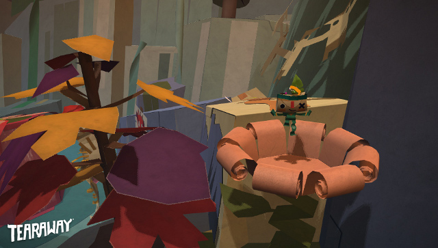 An image from Tearaway
