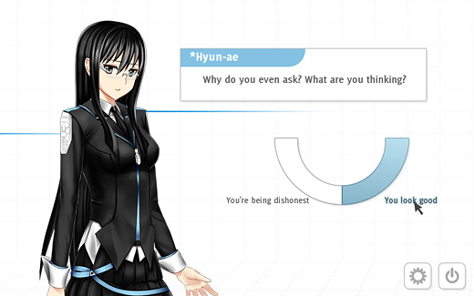 Analogue: A Hate Story Screenshot