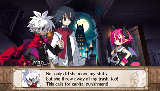 Disgaea 3: Absence of Detention Screenshot
