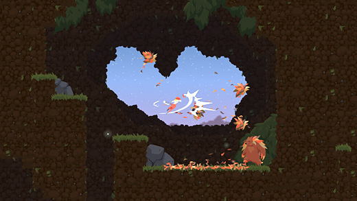 Dustforce Screenshot