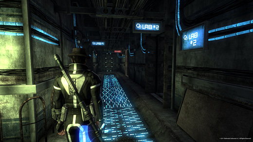 Fallout: New Vegas—Old World Blues Screenshot