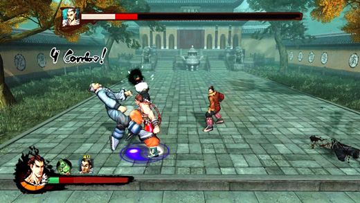 Kung Fu Strike: The Warrior's Rise Screenshot