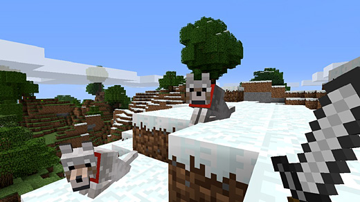 Minecraft Xbox 360 Edition Screenshot