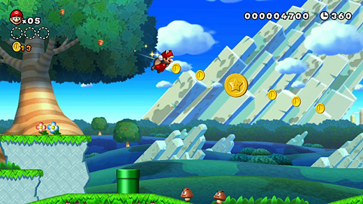 New Super Mario Bros. U Screenshot