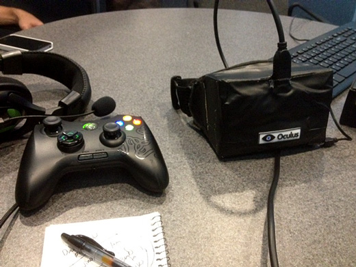Oculus VR Headset Screenshot