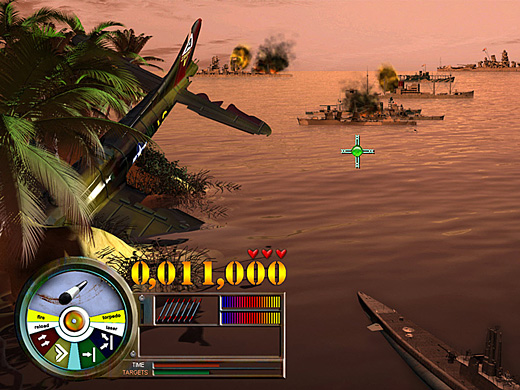 Pearl Harbor: Fire on the Water Screenshot