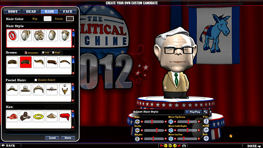 Political Machine 2012 Screenshot