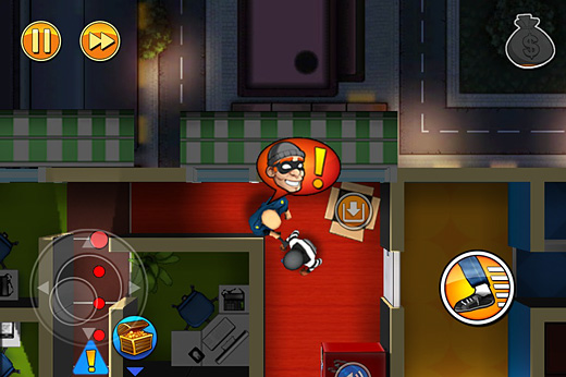 Robbery Bob: Man of Steal Screenshot
