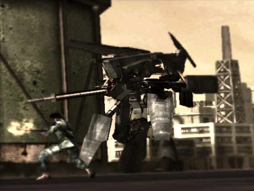 Steel Battalion Screenshot