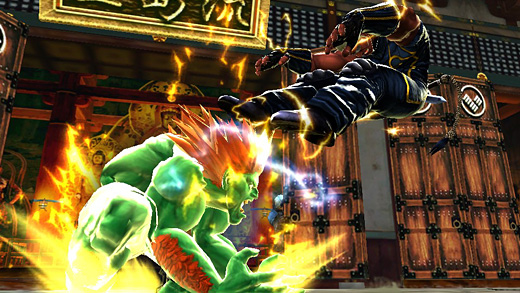 Street Fighter X Tekken: New Character DLC Screenshot