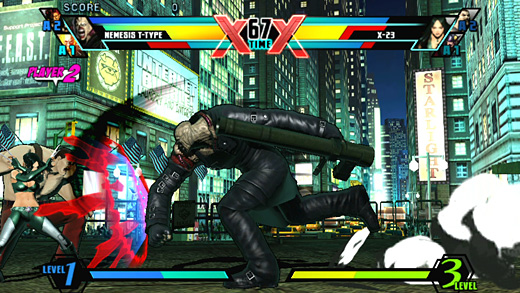 Ultimate Marvel vs Capcom 3 Screenshot