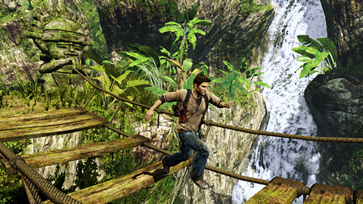 Golden Abyss Screenshot