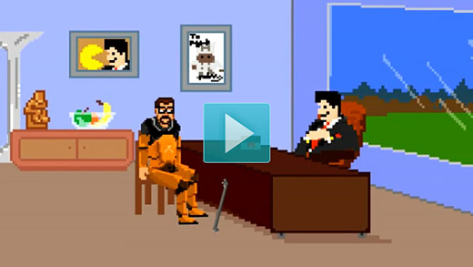 Video: Gordon Freeman meets with his agent