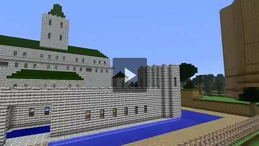 The Ocarina of Time's Hyrule recreated in Minecraft