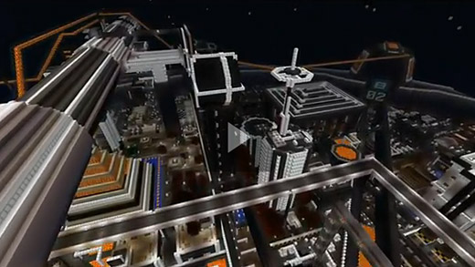 Video: Final Fantasy VII's steampunk city of Midgar recreated in Minecraft