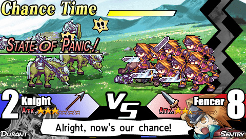 Yggdra Union: We'll Never Fight Alone Screenshot
