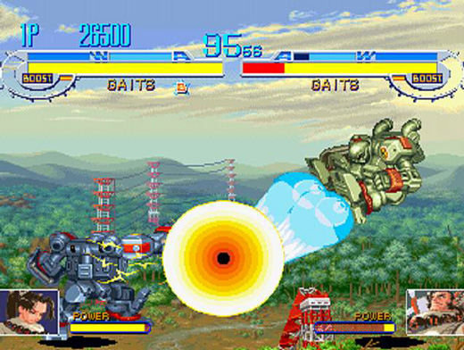 Cyberbots: Full Metal Madness Screenshot