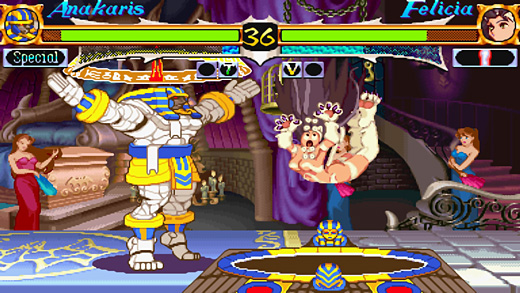 Darkstalkers Resurrection Screenshot