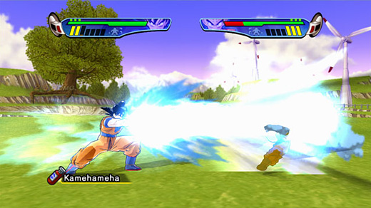 Dragon Ball Z: Budokai HD Collection Screenshot